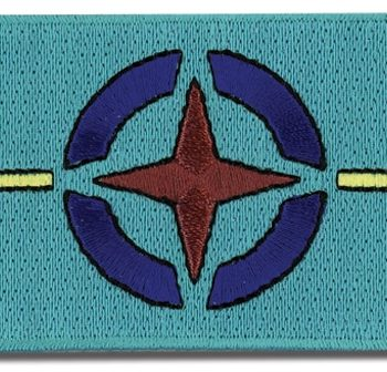 Gundam 00 AEU Flag Patch