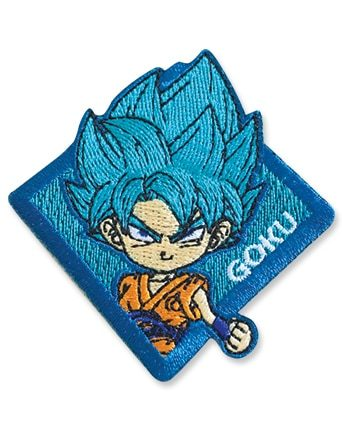 Super Saiyan Blue Goku Patch