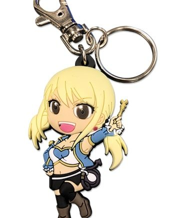 SD Lucy PVC Keychain Version 2
