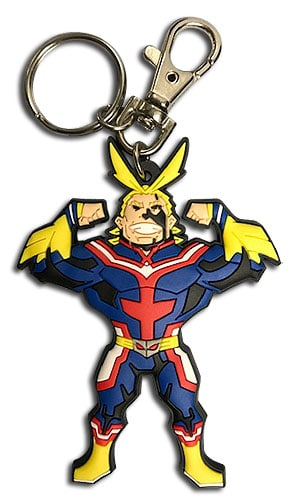 SD All Might PVC Keychain