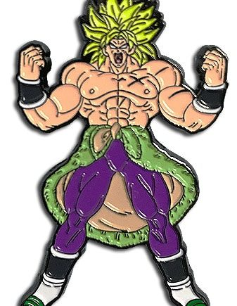 Super Saiyan Broly Pin