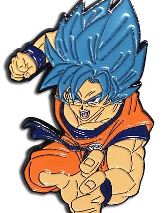 Super Saiyan Blue Goku Pin