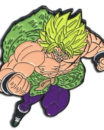 Super Saiyan Broly Attack Pin