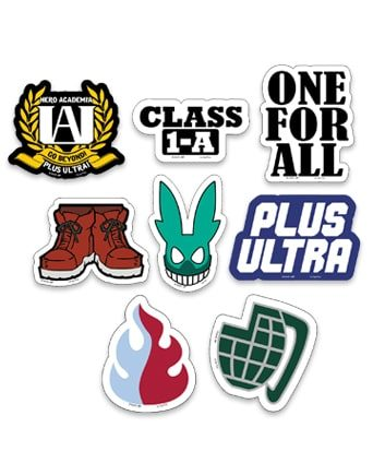 My Hero Academia: Symbol Die-Cut Stickers