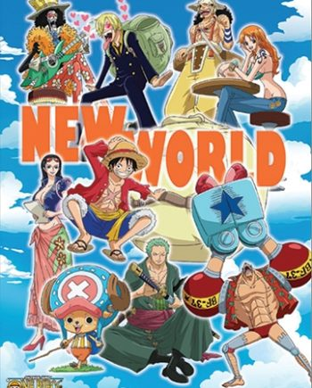 New World Wall Scroll