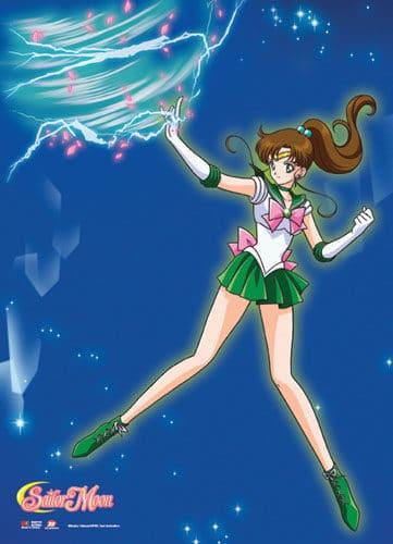 Sailor Jupiter Wall Scroll Version 2
