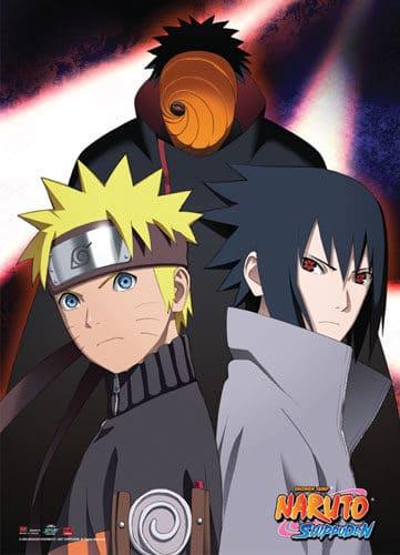 Naruto, Sasuka & Tobi Wall Scroll