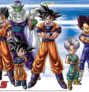 Dragon Ball Z: Group Wall Scroll