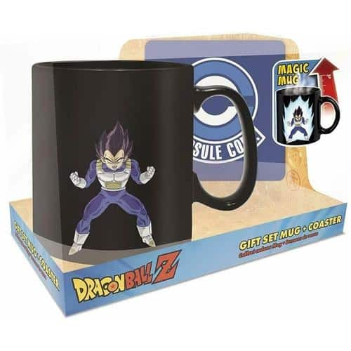 Dragon Ball Z: Vegeta Magic Mug & Coaster Gift Set
