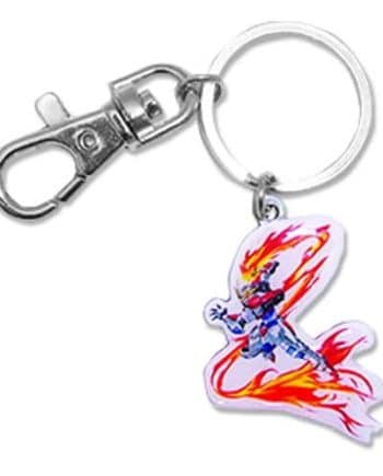Build Burning Gundam Metal Keychain