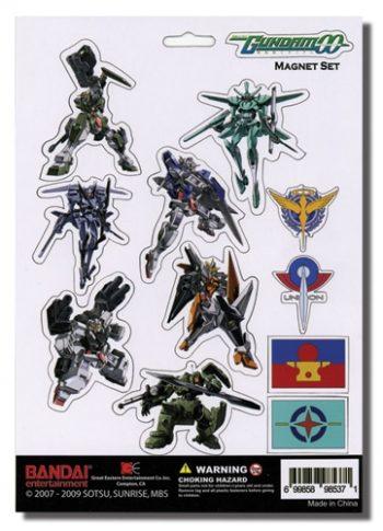 Gundam 00 Magnet Set