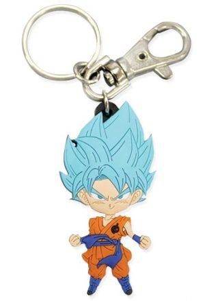 SD Super Saiyan Blue Goku PVC Keychain
