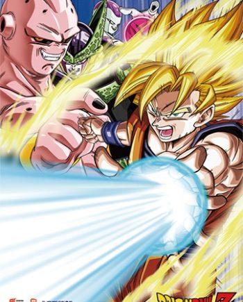 Goku & Villains Wall Scroll
