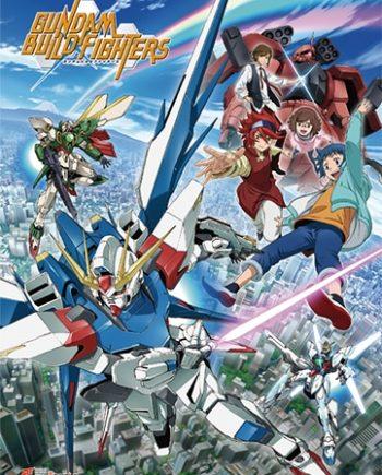 Gundam Build Fighters: Key Art Wall Scroll