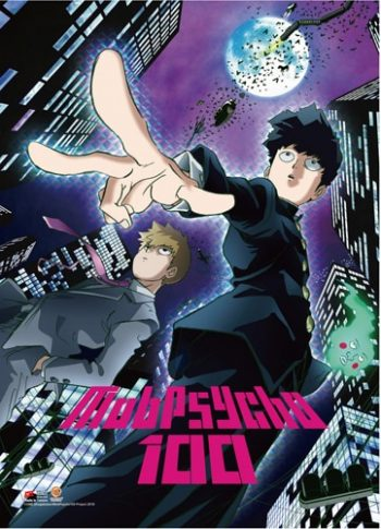 Mob Psycho 100: Key Art Wall Scroll 1