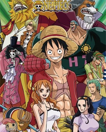One Piece: Group Wall Scroll Version 2