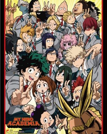 My Hero Academia: Class Group Wall Scroll