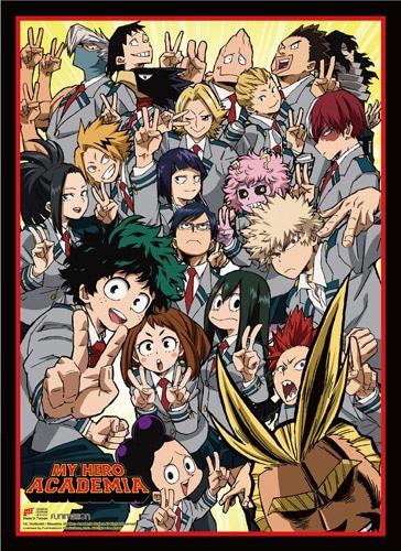 My Hero Academia: Class Group Wall Scroll