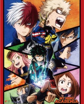 My Hero Academia: Key Art Wall Scroll