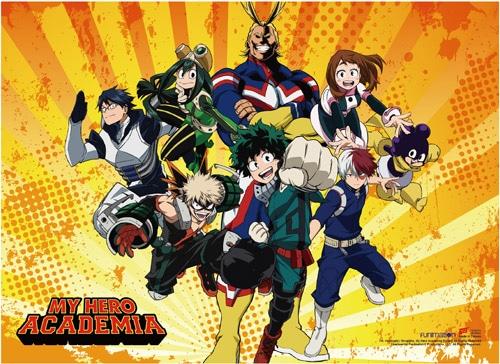 My Hero Academia: Group Wall Scroll Version 2