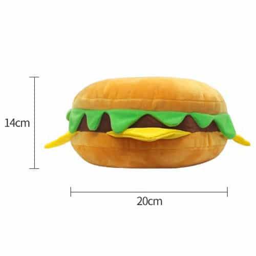 Hamburger Plushie Pose 3