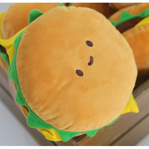 Hamburger Plushie Pose 1