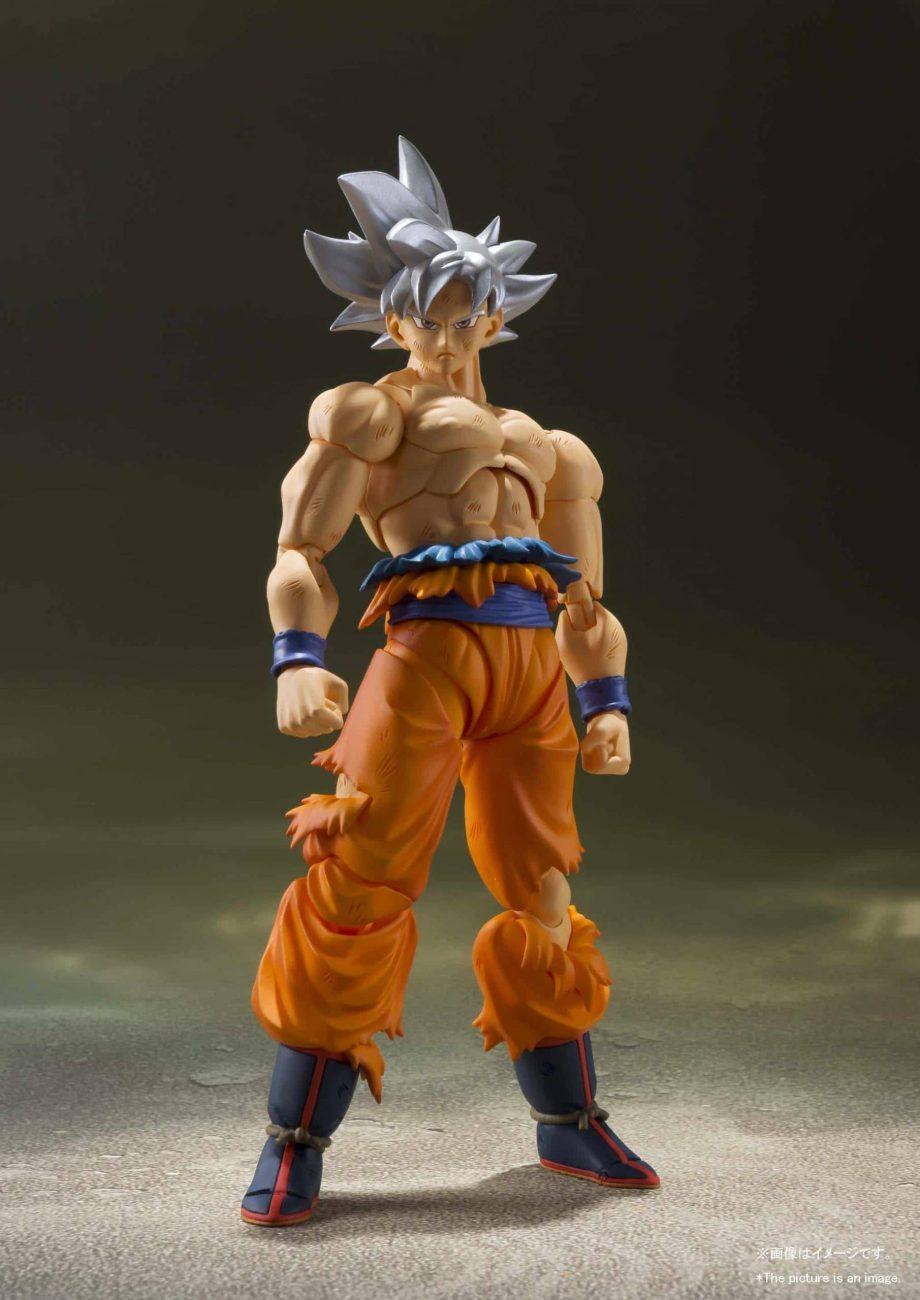 Son Goku Ultra Instinct SH Figuarts Pose 4