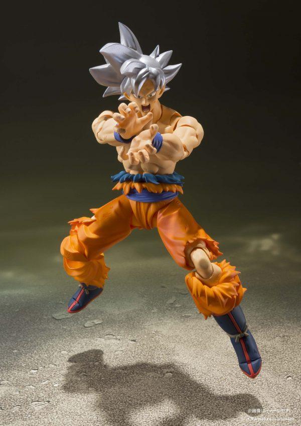 Son Goku Ultra Instinct SH Figuarts Pose 6