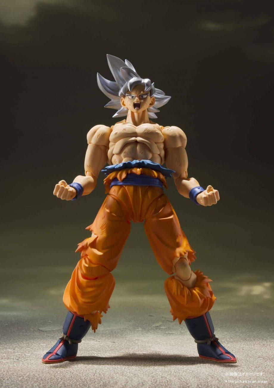 Son Goku Ultra Instinct SH Figuarts Pose 5