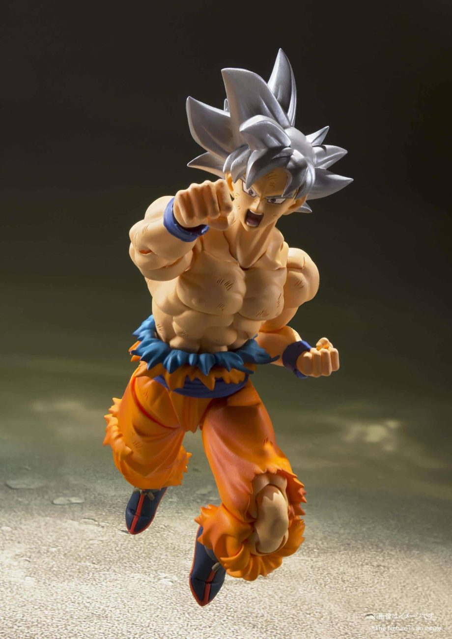 Son Goku Ultra Instinct SH Figuarts Pose 3