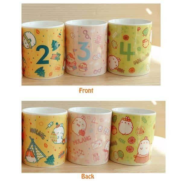 Molang Mug Set