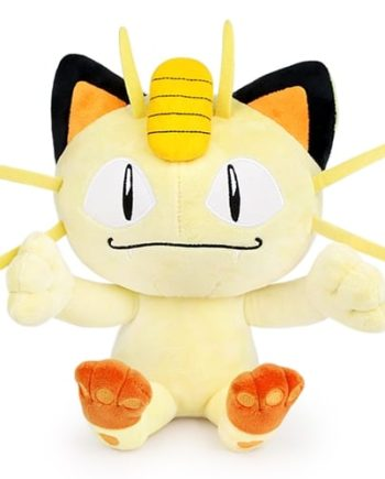 Meowth Plushie Pose 1