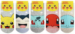 Pokemon Face Star Socks Pose 1