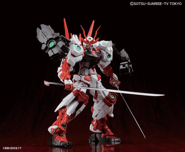 Master Grade Sengoku Astray Gundam Pose 3