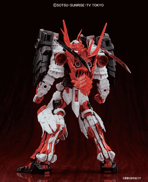 Master Grade Sengoku Astray Gundam POse 2
