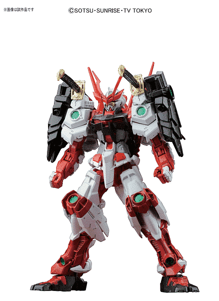 Master Grade Sengoku Astray Gundam Pose 1