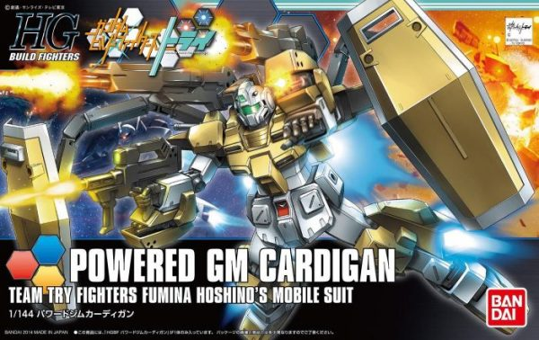 High Grade Powered GM Cardigan Pose 1