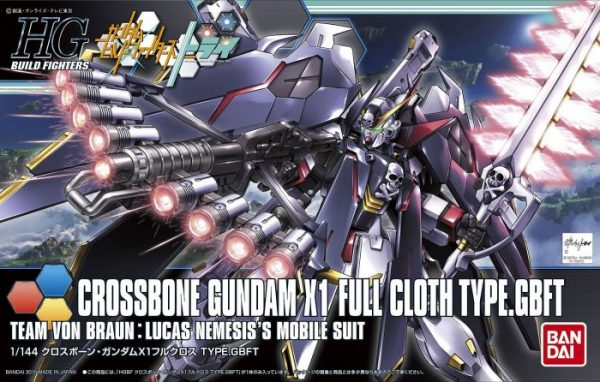 High Grade Crossbone Gundam X1 Full Cloth Type Box
