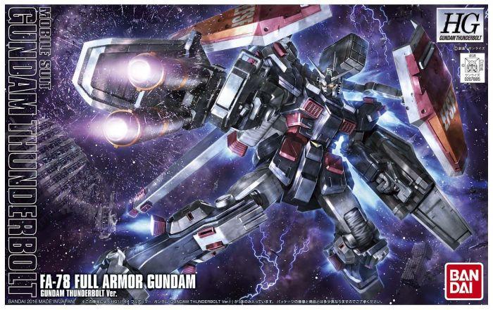 High Grade Gundam Thunderbolt Box