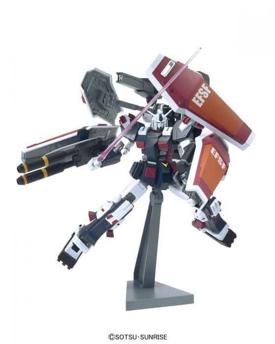 High Grade Gundam Thunderbolt Pose 2