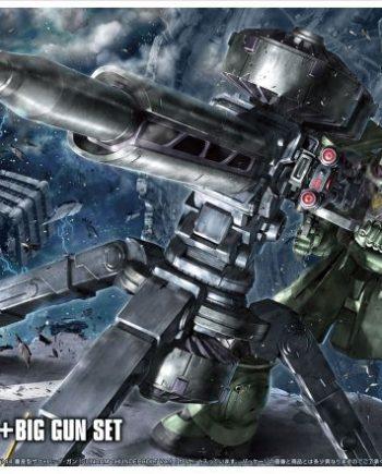 High Grade Zaku II + Big Gun - Anime Ver Box