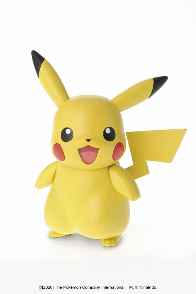 Pikachu Model Kit Pose 1