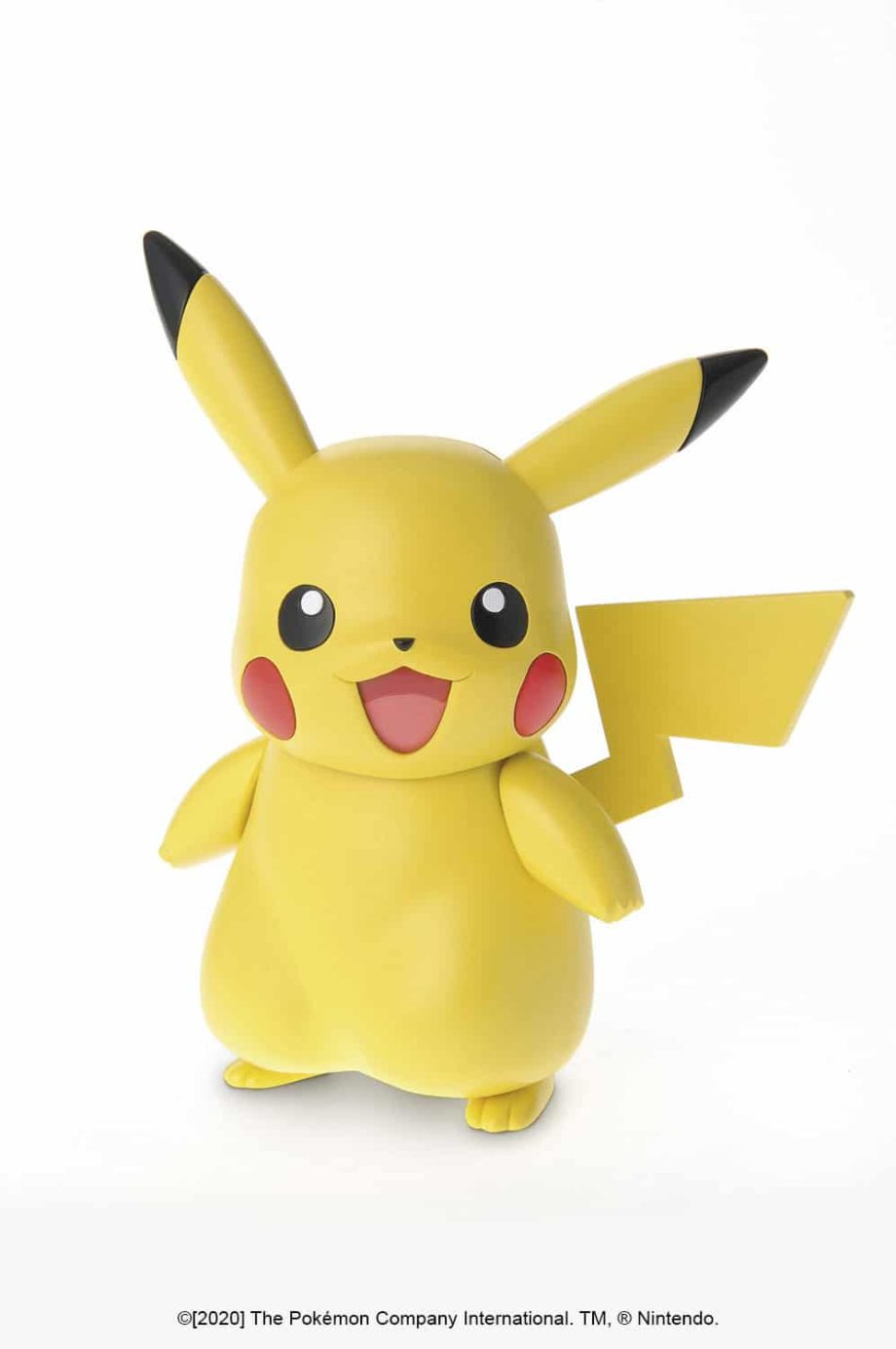 Pikachu Model Kit Pose 1