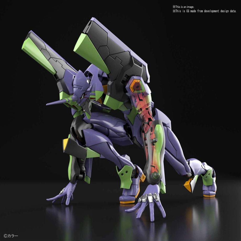 Real Grade Evangelion Unit 01 Pose 3