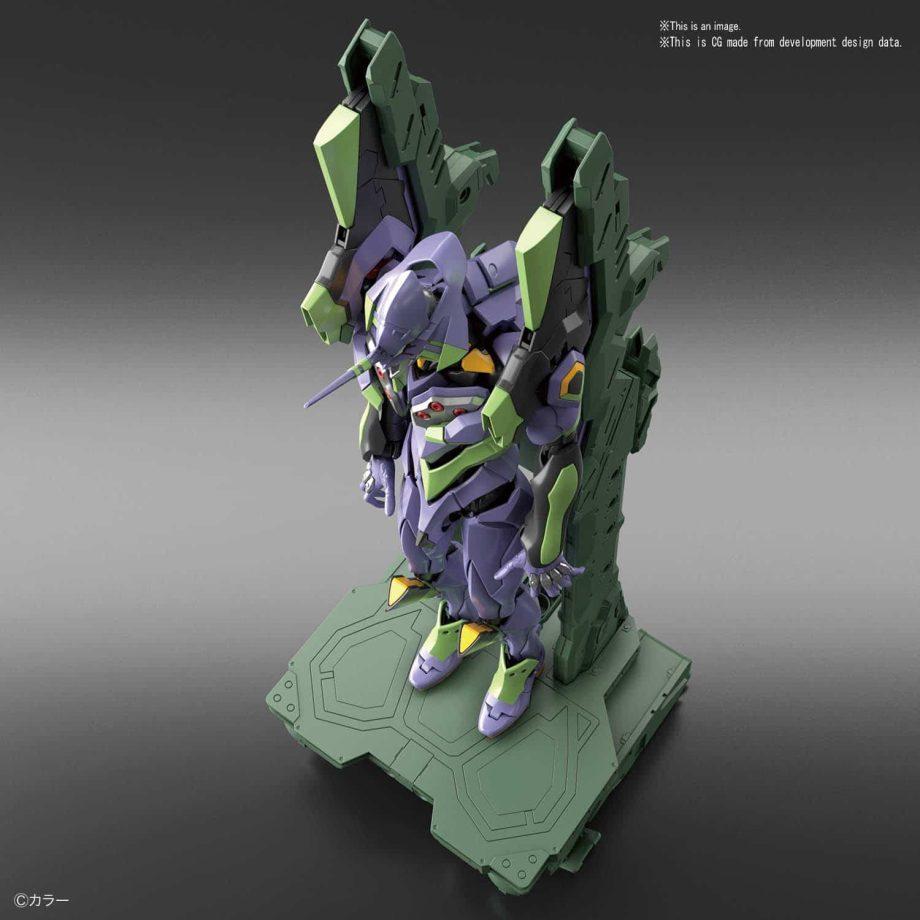 Real Grade Evangelion Unit 01 Platform Set Pose 2
