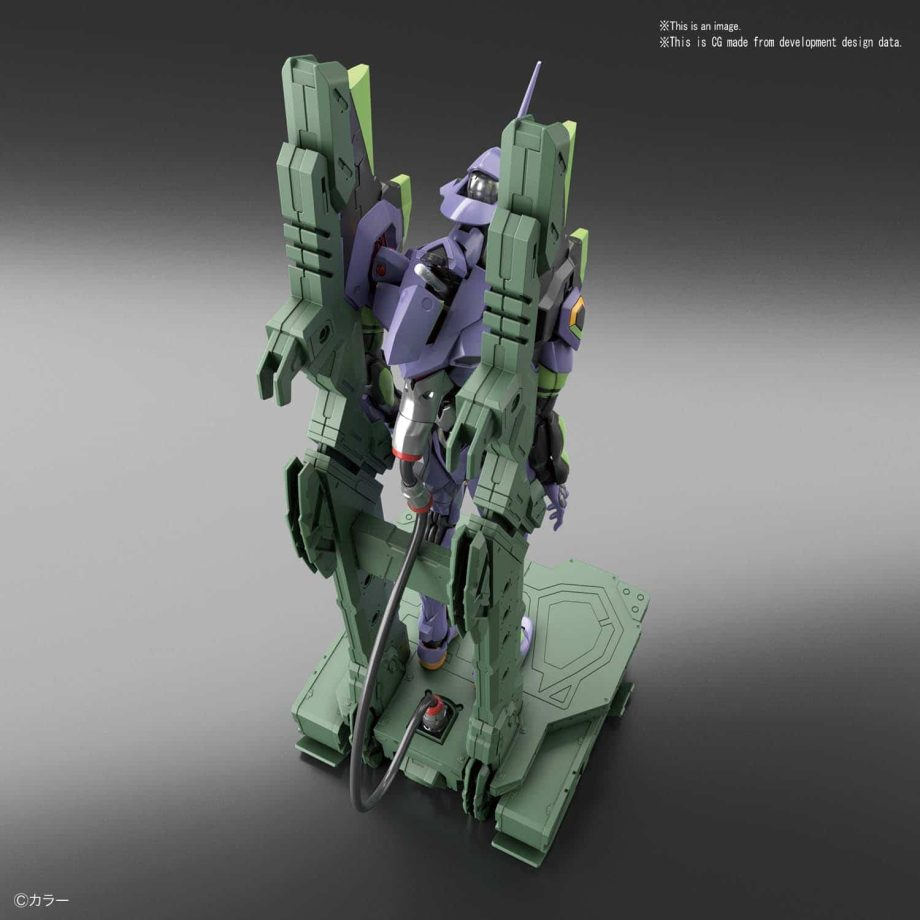 Real Grade Evangelion Unit 01 Platform Set Pose 3