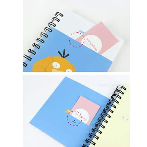 Pokemon Thick Pocketed Notebook Pose 2