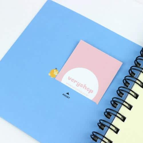 Pokemon Thick Pocketed Notebook Pose 3