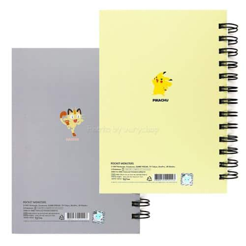 Pokemon Thick Pocketed Notebook Pose 4