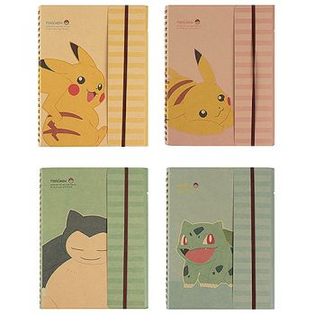 Pokemon Vintage Notebook Pose 1